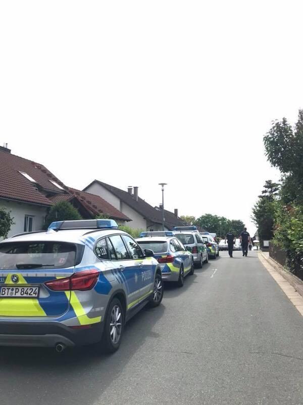 SEK-Einsatz im Kulmbacher Stadtteil Weiher: Vater bedroht Sohn mit ...